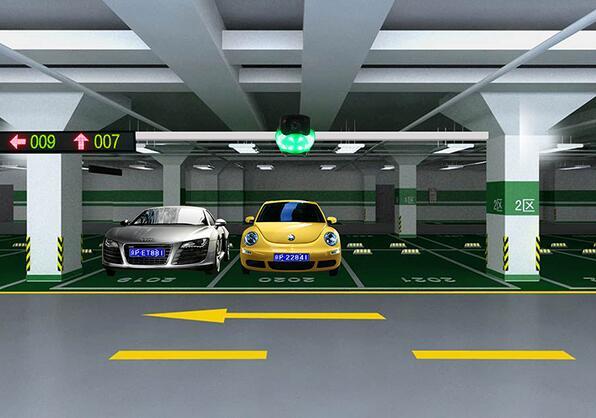 高清视频车位引导系统