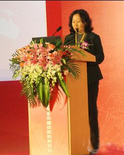 国家标准委工业二部副主任王莉